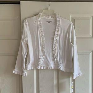 White short jacket/shrug